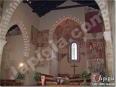 la chiesa dedicata a santa maria del casale