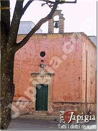 torchiarolo la chiesa dedicata a sant'antonio