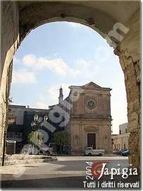 torchiarolo la chiesa dedicata al rosario
