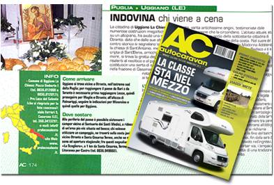 articolo su ac autocaravan