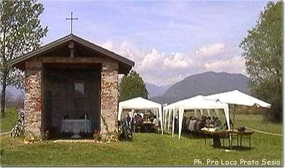 Prato Sesia la chiesetta dedicata a San Marco