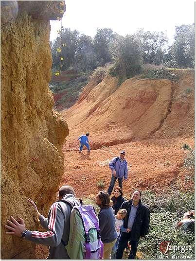la cava di bauxite