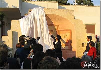Felline: l'abside di Santa Sofia restaurato
