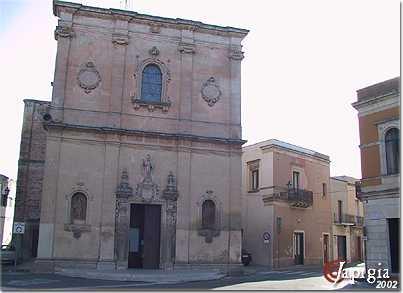 calimera, la chiesa
