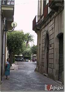 Carpignano, il centro storico (2002)