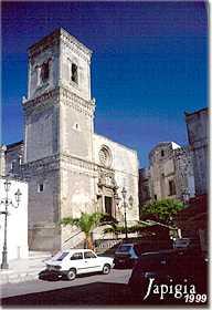 Corigliano d Otranto, la chiesa dedicata a san Nicola