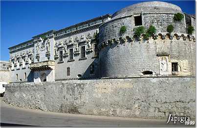 Corigliano d Otranto, il castello