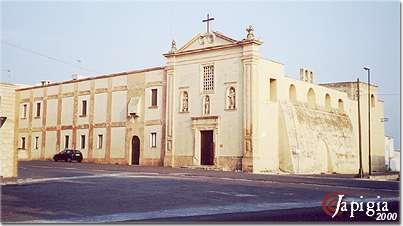 gagliano del capo, la chiesa di san francesco da paola