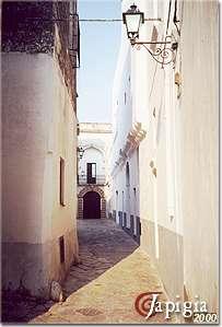 gagliano, vicolo del centro storico
