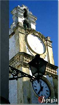 gallipoli, torre dell orologio