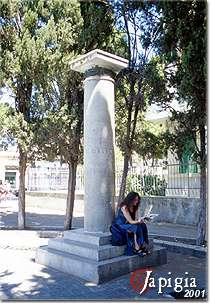 Lecce, monumento a Quinto Ennio