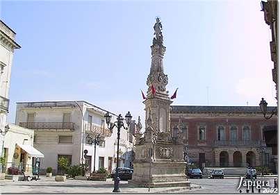 Lequile: la piazza principale (2002)