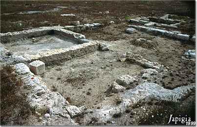 Le antiche fondamenta di una casa