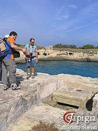 trekking a roca vecchia