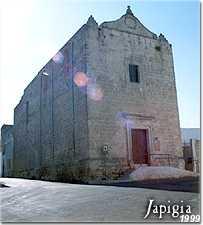 Melissano: antica chiesa