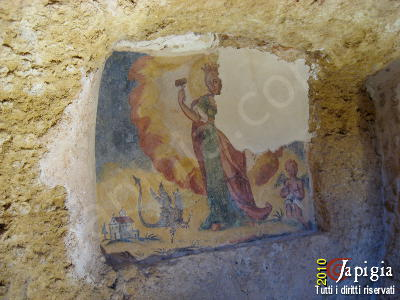 La cripta di santa marina a miggiano