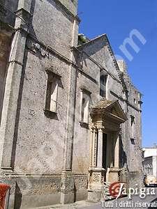 il centro storico di morciano di leuca
