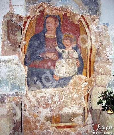 affresco della madonna di costantinopoli