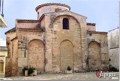 otranto, la chiesa dedicata a san pietro
