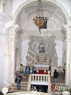 la chiesa dedicata alla madonna di montevergine
