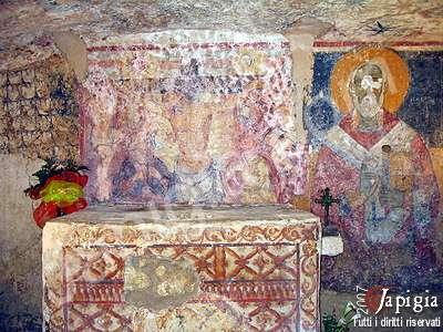 la cripta del crocefisso