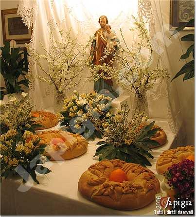 le tavole di san giuseppe a uggiano la chiesa