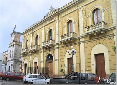 palazzo comunale a manduria