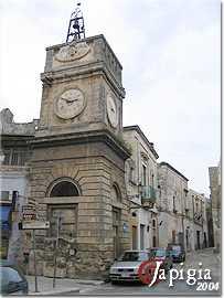 manduria, torre dell orologio
